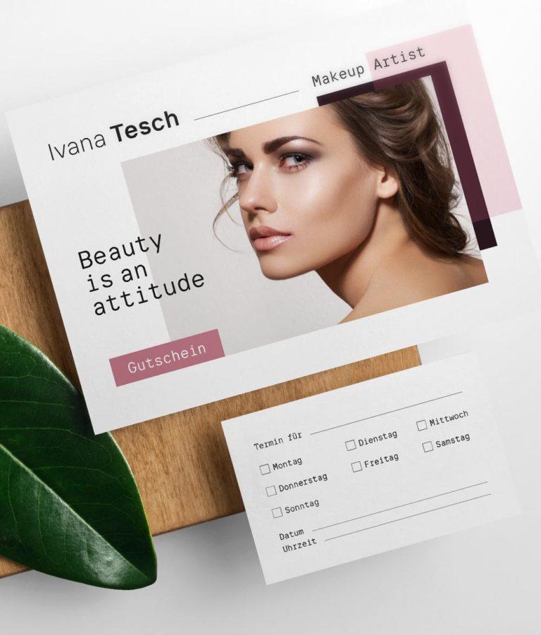 Makeup Artist Corporate Design