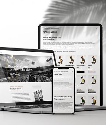 Onlineshop für Weinverkauf